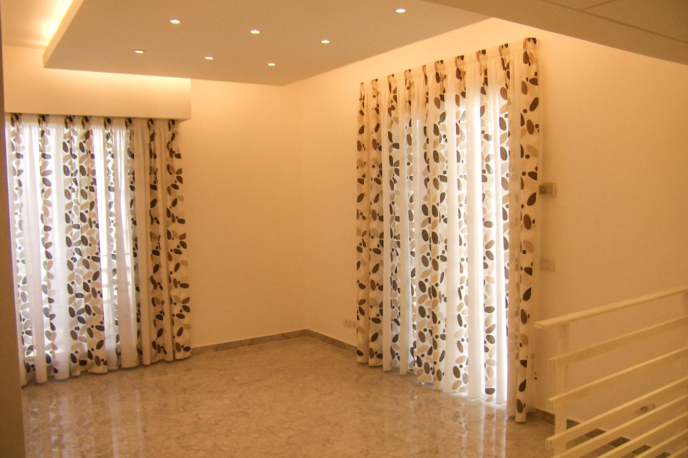 Jaber Residence - Doors with Curtains