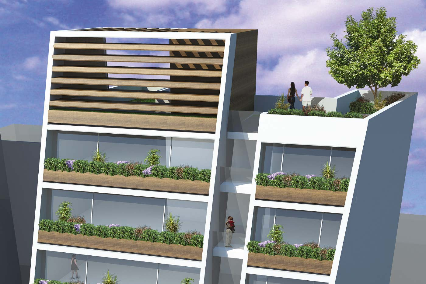Loft 705 - Luxury Residential Building - Rooftop