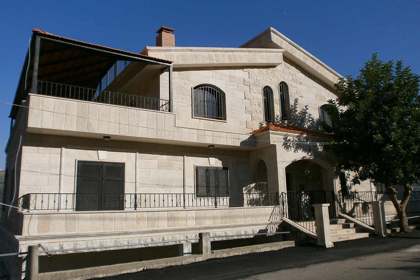 Merhi Villa - Stone Construction