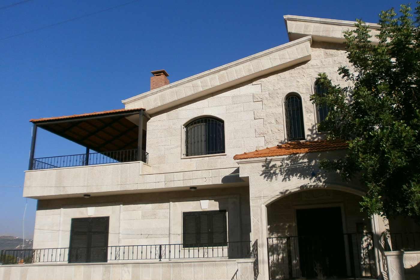 Merhi Villa Side View - Entrance & Balcony
