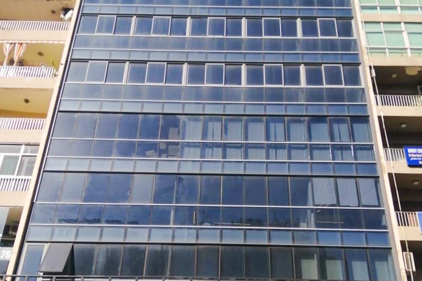 Msaytbeh - Full Building View - Windows & Stories