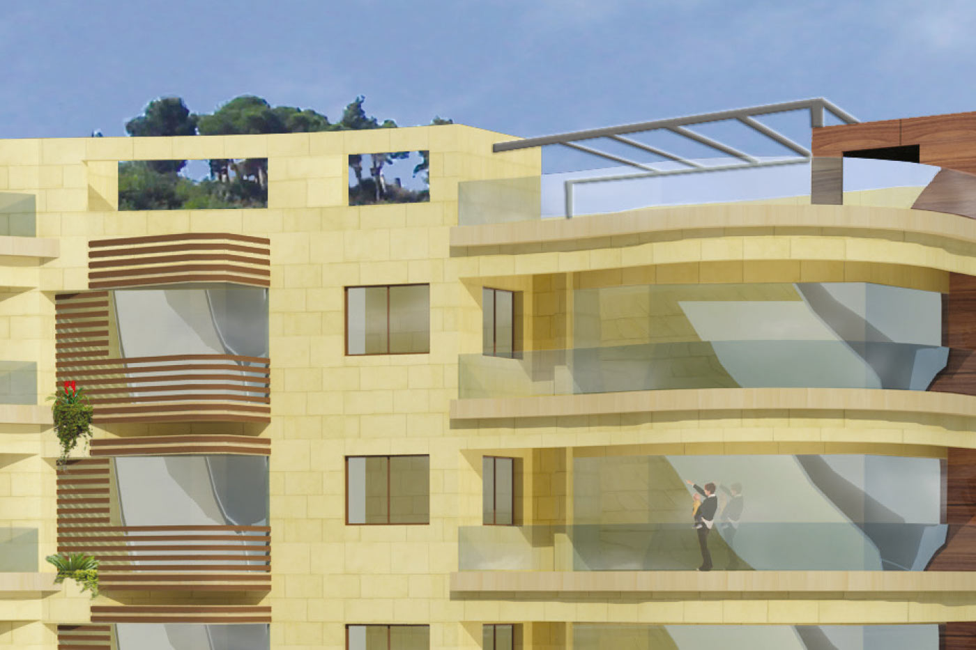 Mtayleb Luxury Residential Building